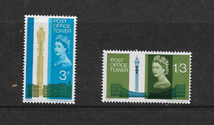 1965 GB. - Post Office Tower - Complete Set - Mint and Never Hinged.
