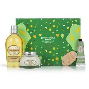 NEW L'Occitane Christmas Delicious Almond Gift Box Free Domestic Express Post