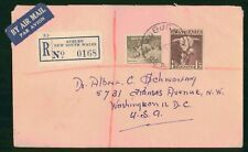 MayfairStamps Australia Auburn New South Wales Registered to Washington DC Air M