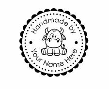 PERSONALIZED  CUSTOM MADE  RUBBER STAMPS UNMOUNTED H81