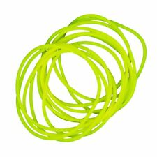 Gummy Shag Bands  90's Retro Pack of 12 Yellow