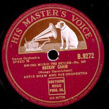 ARTIE SHAW & HIS ORCHESTRA Rockin' Chair / If I had you   Schellackplatte  X1948