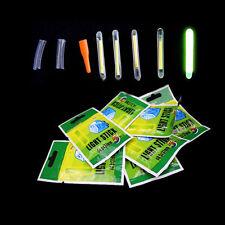 50× in Fishing Fluorescent Lightstick Night-Light Float Clip Glow in Dark~Stick