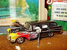 1957 CHEVROLET BEAUVILLE 4 DOOR WAGON LIMITED EDITION 1/64 M2 1960'S CRUISER
