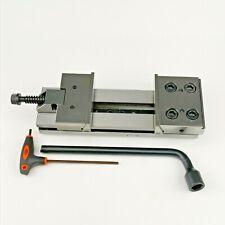 4 100mm Jaw Width Precision Cnc Modular Vise 0005mm Precision