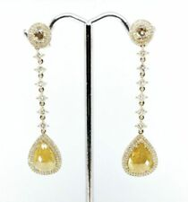 Champagne Not Enhanced Yellow Gold Fine Jewellery