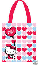 NEW HELLO KITTY BUBBLE COTTON TOTE SHOPPER SHOPPING SHOULDER BAG