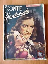 SUPER FOTOFILM ARIETE n. 4 (1954) IL CONTE DI MONTECRISTO di Robert Vernay