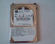 2.5 Hard Disk Drive Toshiba MK2023GAS HDD2187 A ZF01 T 20GB E-H011-02-5169