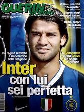 Guerin Sportivo 28 2007 Inter Chivu - Nel segno di Messi Barcelona [GS.33]