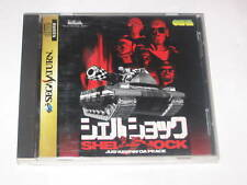 Shell Shock Sega Saturn import Japan