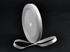 "5 Yards Satin Ribbon 6mm Pure White Wedding Scrapbook Embroid 1/4 inch "" Craft"