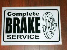 Auto Repair Shop Sign: Complete Brake Service