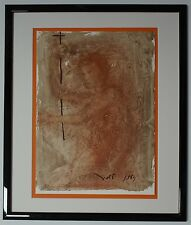 "'67 Salvador Dali Original Biblia Sacra #84 ""Propheta Altissimi"" Signed - COA"