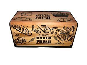Brotkasten Brotkiste Brotbehälter Brotbox aus Holz NEU Brotaufbewahrungsbox