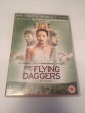 House Of Flying Daggers (DVD, 2005, 2-Disc Set) collectors edition, region 2 uk