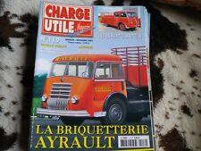 CHARGE UTILE n° 119 magazine camion et utilitaires très bon état, comme neuf