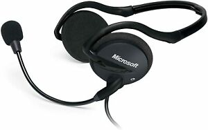 BRAND NEW MICROSOFT LifeChat LX-2000 Headset with Microphone - Wired - Foldable