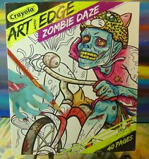 Crayola - Art With Edge - Zombie Daze - 40 Page - Coloring Book