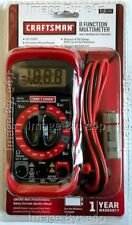 CRAFTSMAN 8 FUNCTION DIGITAL MULTIMETER 20 RANGE BRAND NEW FACTORY SEALED RETAIL