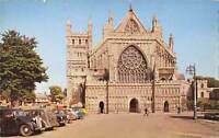 uk6524 west front exeter cathedral uk