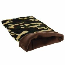 "MARSHALL PET FERRET CAMOUFLAGE SLEEP SACK 20""X12"" LINED BED DEN. FREE SHIP USA"