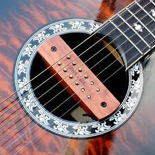 Artec WSH12 Bubinga BB Wooden humbucker soundhole pickup acoustic guitar OSJ