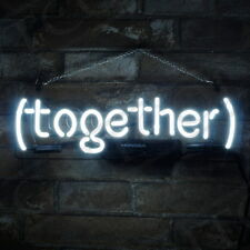 (Together) Neon Sign Pub Light Night Club Bedroom Wall Decor Bontique Artwork