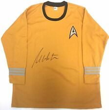 Star Trek Signed Shirt Actor William Shatner Captain James T Kirk Prop Uniform