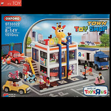 Oxford Block TOWN TOY SHOP ST33322 ToysRus Building Bricks Set Limited Edition