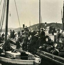 Norway Christiansand Fishermen Old NPG Stereo Stereoview Photo 1900