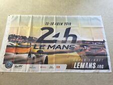 24 hour Le Mans 2019 Porsche Ford Chevrolet Toyota BMW workshop flag banner
