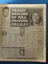 Elvis Presley - The Sun 14/8/1980 - Full page article