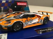 Carrera 30786 Digital & Analog Ford GT #21/32 Scale Slot Car W/Lights In Stock