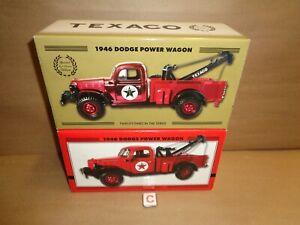 TEXACO 1946 DODGE POWER WAGON TOW TRUCK WRECKER REGULAR & SPECIAL EDITIONS #23