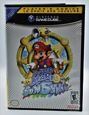 Super Mario Sunshine - Nintendo Gamecube, Complete W. Manual