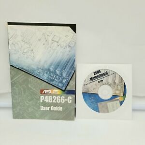 ASUS P4B266 or P4B266-C Motherboard Drivers Installation Disk M219 & User Guide