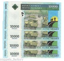 1 billet de 10000 ariary Madagascar Type 2009 Neuf ( 011 )