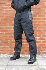 Merlin Oakford Outlast Motorcycle Trousers Waterproof Textile and Leather Medium