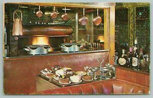 Albany Georgia~Davis Brothers Suburban Restaurant Interior~Vintage Postcard