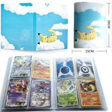 Pikachu Bluesky Album Book List Sheet Holder Collectors For 112Pcs Pokemon Cards