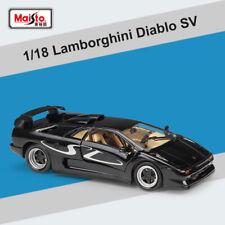 1:18 Lamborghini Diablo SV Diecast Car Model Detailed Display Collection & Toys
