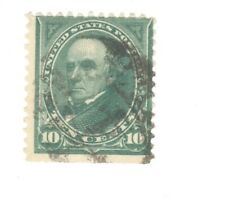 Scott 273 Early US Stamp 10c Webster...1895..