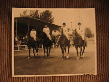 """Hot Shot Kid"" & Terry Rudd up 1961 U.S. Equestrian Team Original Horse Photo"