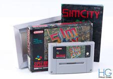 Sim City Boxed - Super Nintendo SNES Retro Cartridge PAL