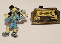 Hidden MICKEY Haunted Mansion Pin Set Of 2