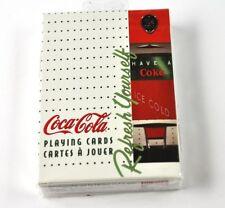 Coca-Cola Coke Spielkarten Karten USA Playing Cards Automat Cooler Motiv