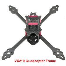 VX210-V2 Mini Quadcopter Frame Carbon Fiber 4-Axis DIY for Aerial FPV Quadcopter