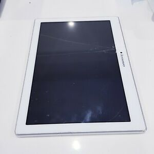 """Lenovo TAB 2 A10-70F 16GB 10.1"""" SOLD AS IS/Crack Screen/Work/Loose Charging port"""