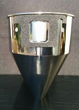 MAZZER CUSTOM DOSERLESS STAINLESS STEEL FUNNEL - FOR SUPER JOLLY, MAJOR, MINI